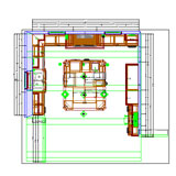 Cabinet Vision Solid Advanced CAD drawing