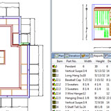 Cabinet Vision Solid Advanced for Closets CAD drawing
