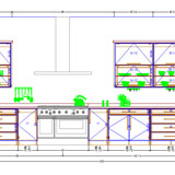 Cabinet Vision Solid Standard CAD drawing